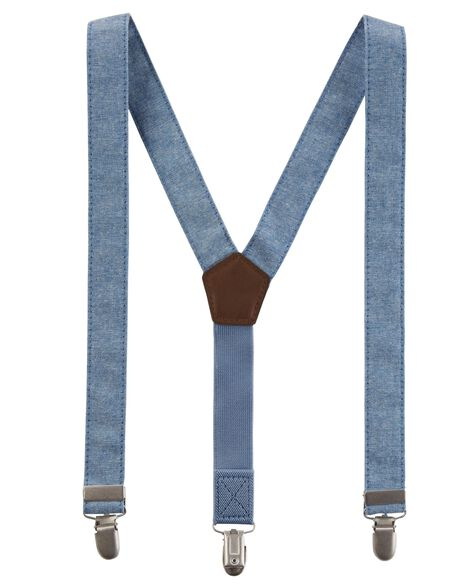 Display product reviews for Chambray Suspenders