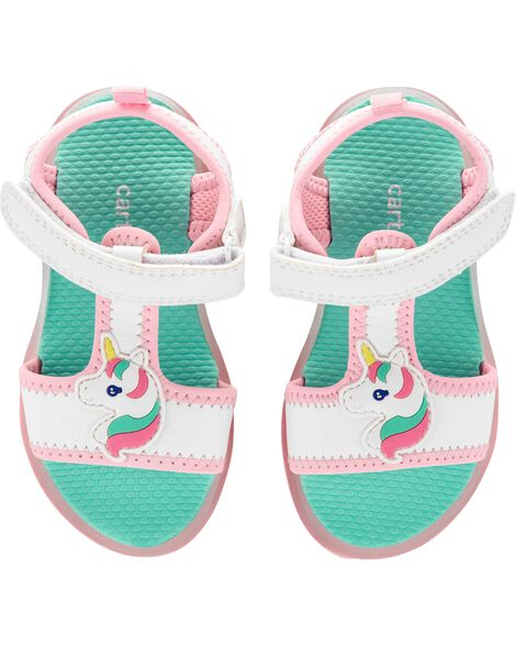 db46f8cde2e Display product reviews for Carter s Unicorn Light-Up Sandals