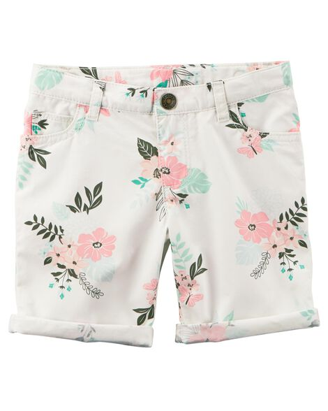 Display product reviews for Floral Twill Shorts