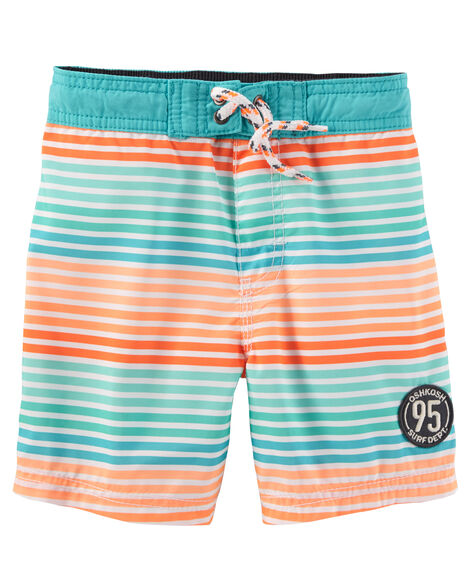 Display product reviews for OshKosh Stripe Swim Trunks