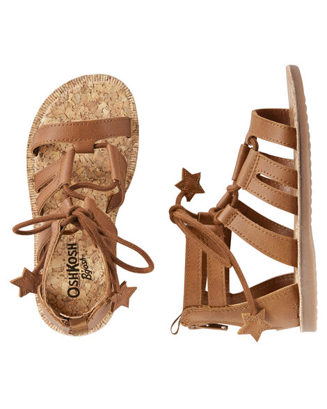 Display product reviews for OshKosh Gladiator Sandals