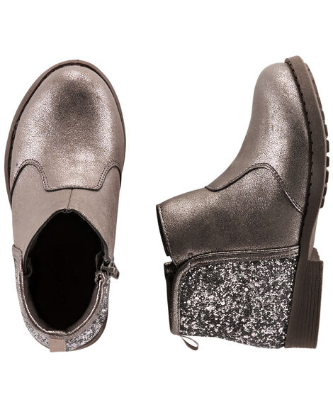Display product reviews for OshKosh Metallic Ankle Boots
