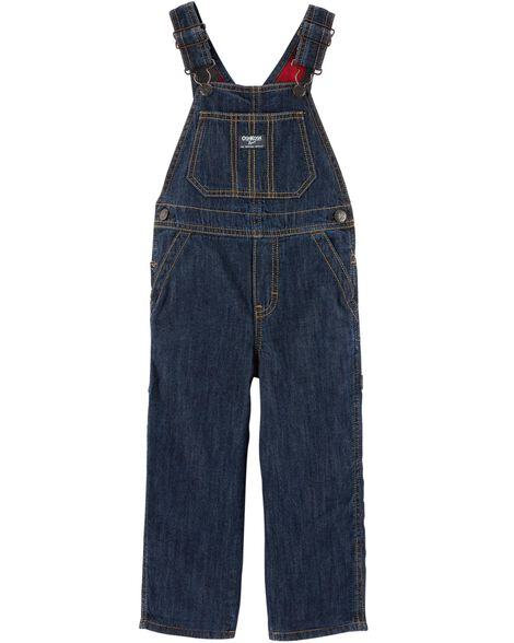 Display product reviews for Buffalo Check-Lined Overalls