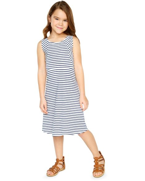 1110672ddb6 Display product reviews for Striped Hi-Lo Tank Dress