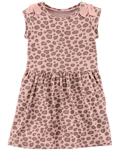 Display product reviews for Leopard Jersey Dress