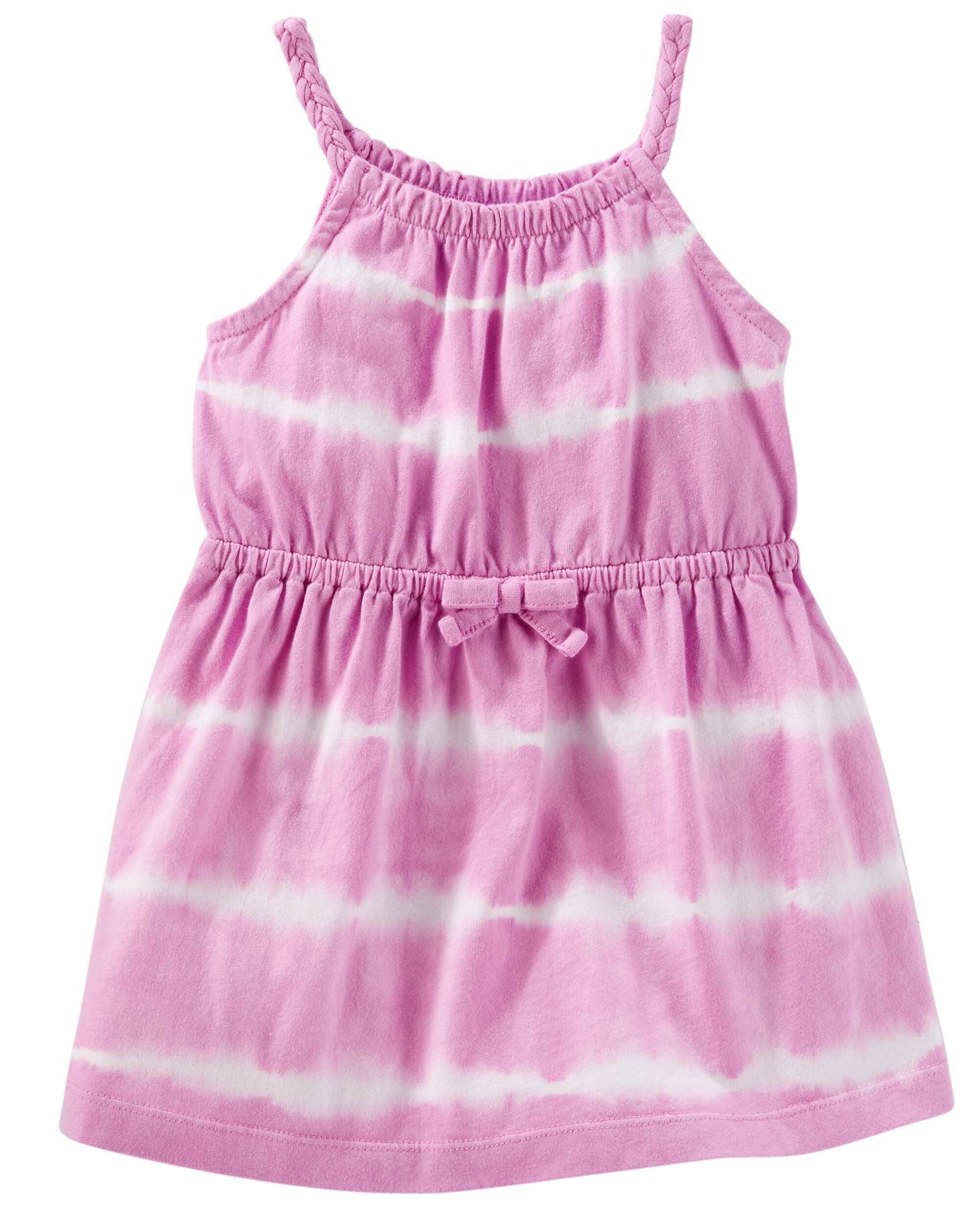 727bdefd0d Baby Girl Tie-Dye Dress | OshKosh.com