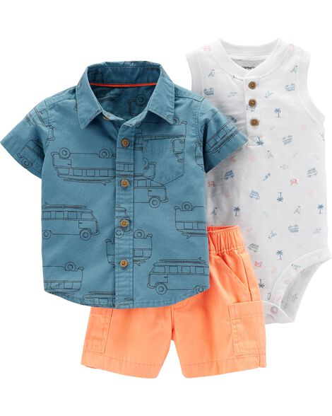 f88799323 Display product reviews for 3-Piece Beach Little Short Set