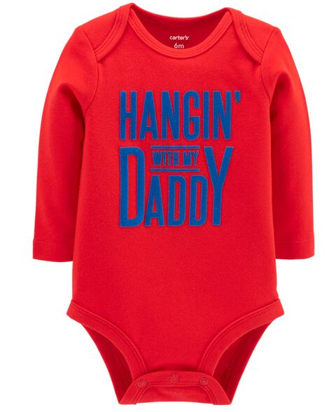 Display product reviews for Hangin' With Daddy Collectible Bodysuit