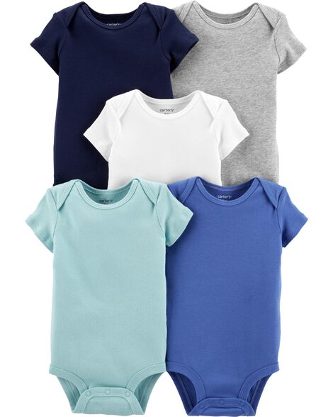 3e14a62bf0198 Baby Boy One-Piece Bodysuits, Multi-Pack Bodysuits | Carter's | Free ...