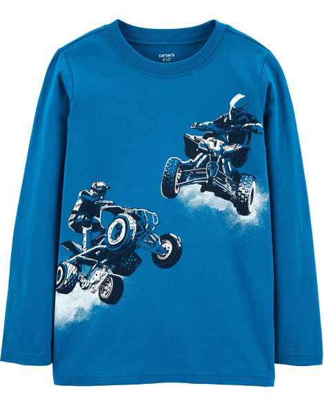 Display product reviews for Four Wheeler Jersey Tee