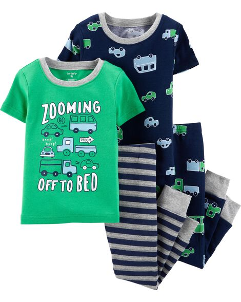 Display product reviews for 4-Piece Cars Snug Fit Cotton PJs 23c25d88b
