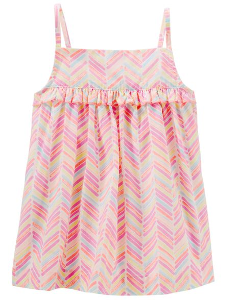 Display product reviews for Ruffle Chevron Tank