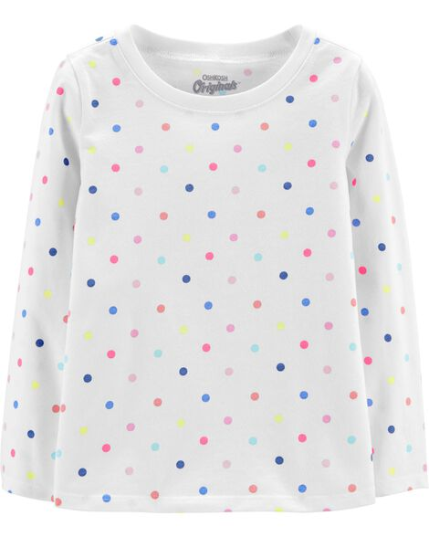 Display product reviews for Jersey Rainbow Dot Top