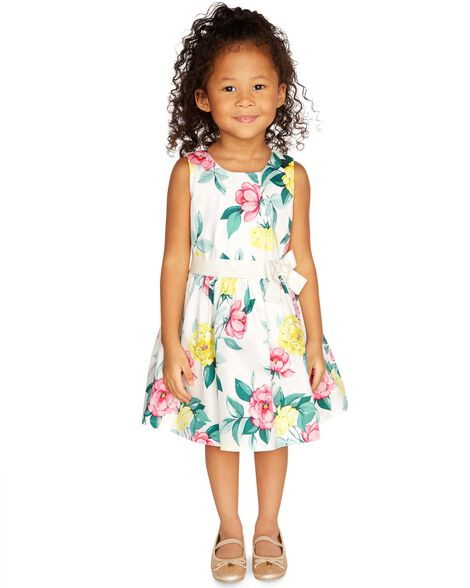 Display product reviews for Floral Sateen Dress