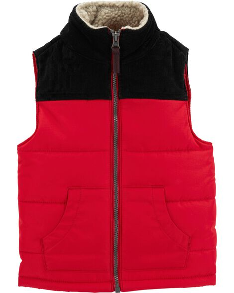 Display product reviews for Zip-Up Puffer Vest