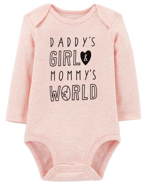 Display product reviews for Daddy's Girl Mommy's World Collectible Bodysuit