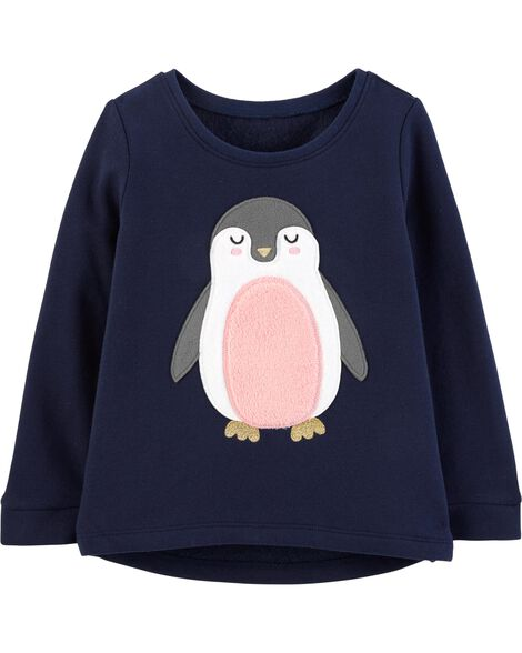 Display product reviews for Penguin Hi-Lo Fleece Top