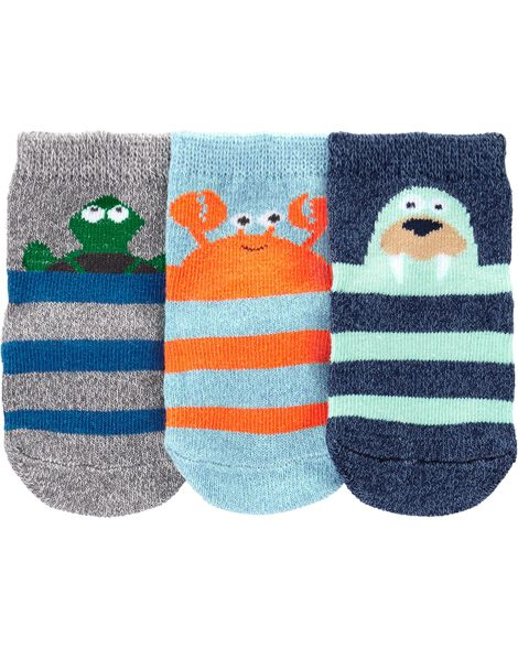 Display product reviews for 3-Pack Sea Character Crew Socks