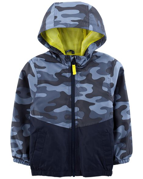 Display product reviews for Camo Windbreaker
