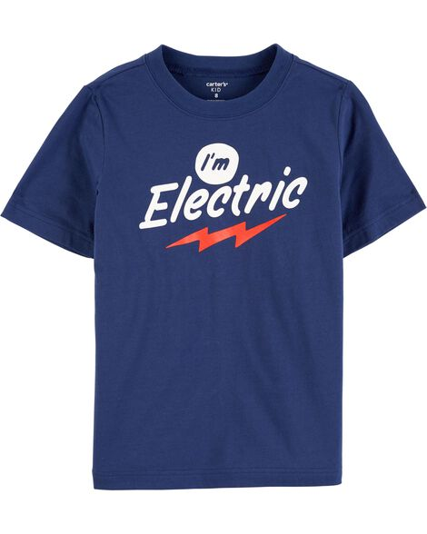 Display product reviews for I'm Electric Jersey Tee