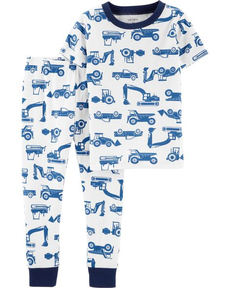 Display product reviews for 2-Piece Construction Snug Fit Cotton PJs 4bbc02c73