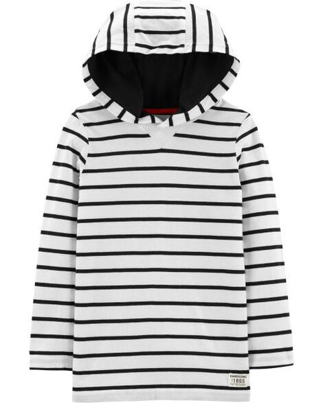 Display product reviews for Striped Hooded Tee
