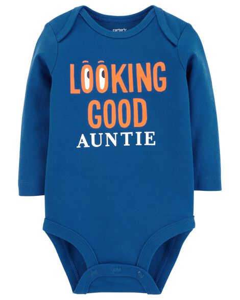Display product reviews for Looking Good Auntie Collectible Bodysuit
