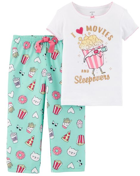 Display product reviews for 2-Piece Sleepover Cotton & Poly PJs