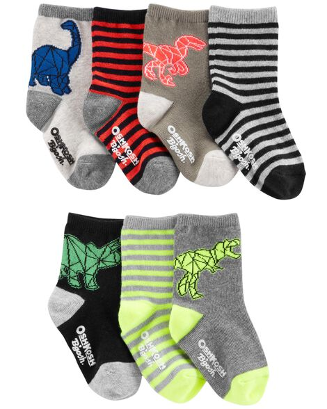 Display product reviews for 7-Pack Dino Crew Socks