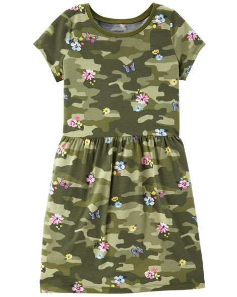 Display product reviews for Floral Camo Dress