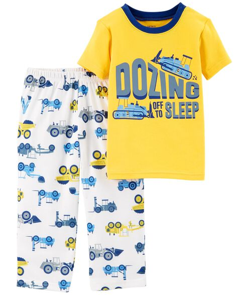 Display product reviews for 2-Piece Construction Cotton & Poly PJs