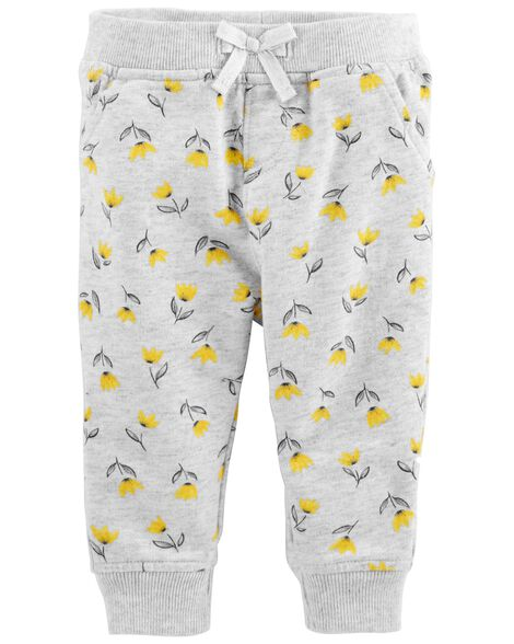 Display product reviews for Floral French Terry Joggers