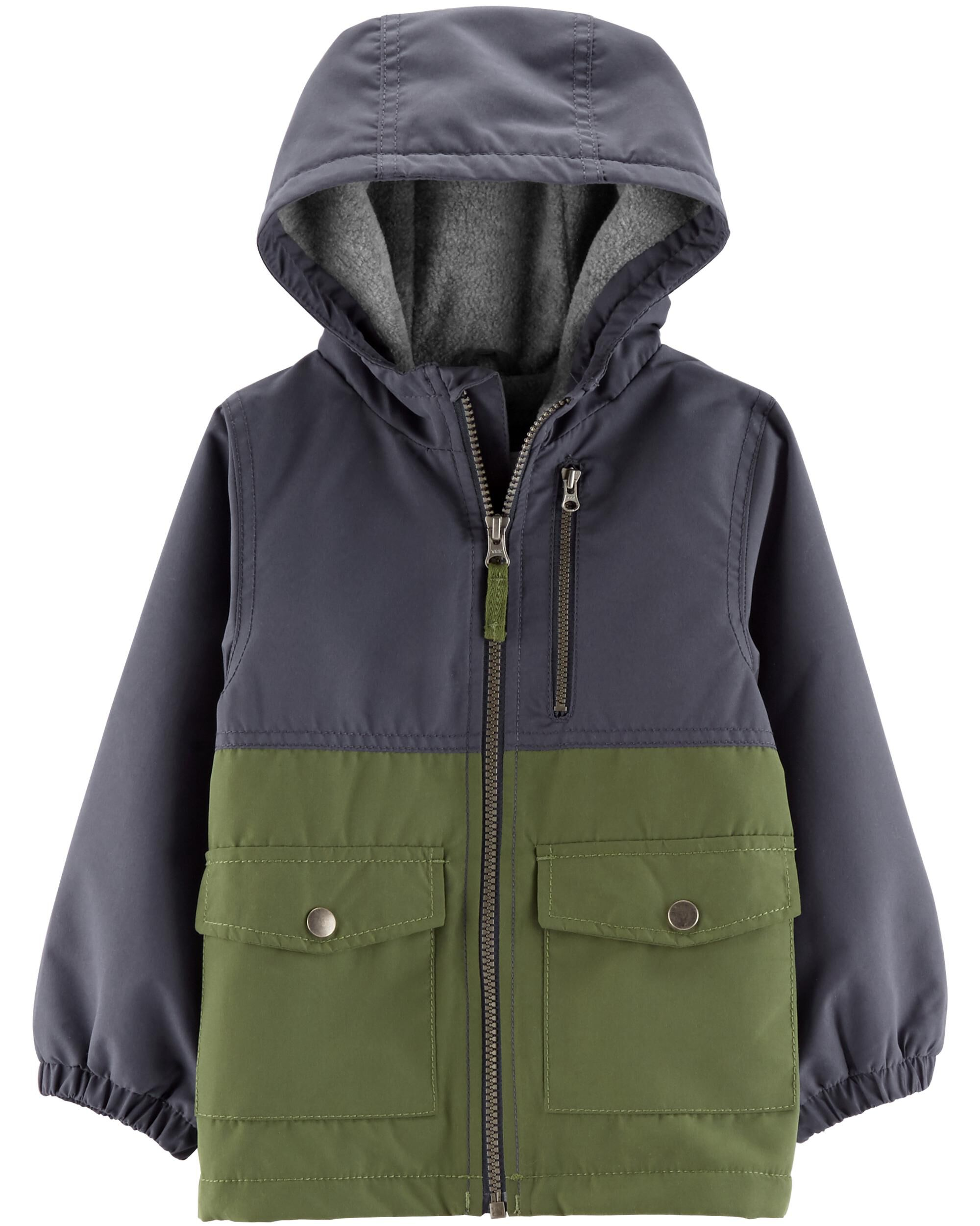 ad7895cc930d Baby Boy Fleece-Lined Jacket