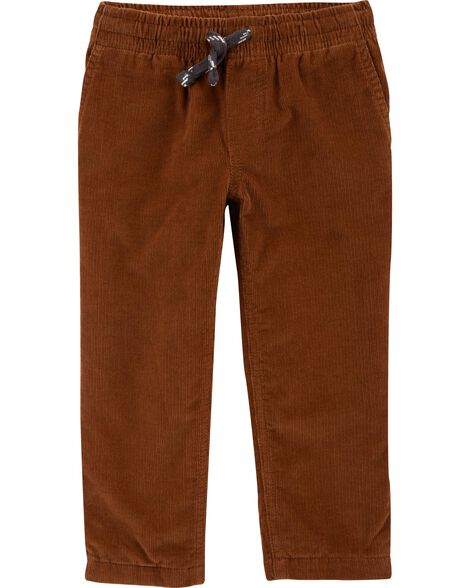 Display product reviews for Lined Pull-On Corduroy Pants