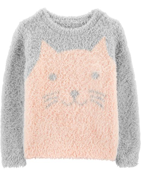 Display product reviews for Fuzzy Cat Sweater