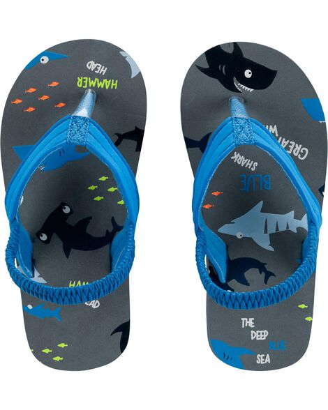 Display product reviews for Carter's Shark Flip Flops
