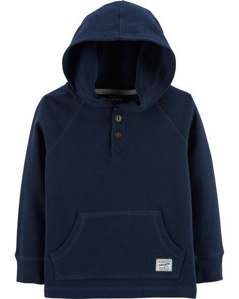 Display product reviews for Hooded Henley Thermal