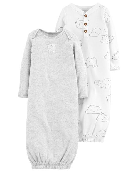 Display product reviews for 2-Pack Babysoft Sleeper Gowns