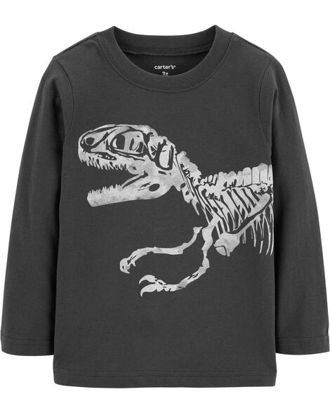 09754f7da1 Display product reviews for Dinosaur Skeleton Jersey Tee