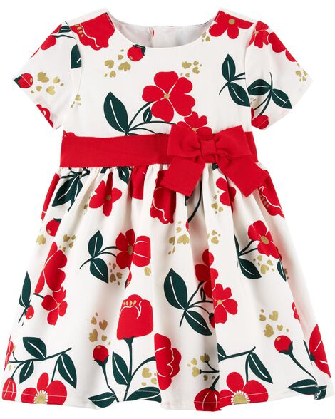Display product reviews for Floral Holiday Dress
