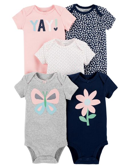 Baby Girl Bodysuits Carter S Free Shipping