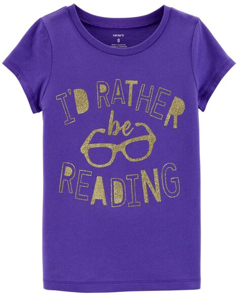 Display product reviews for Rather Be Reading Jersey Tee
