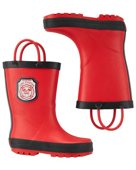 Display product reviews for Carter's Fireman Rain Boots