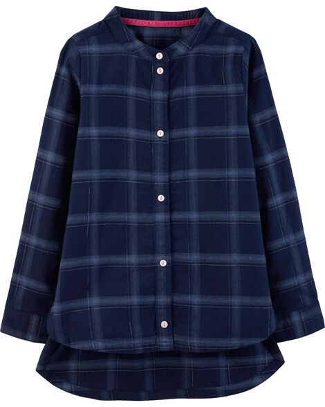 Display product reviews for Plaid Flannel Tunic