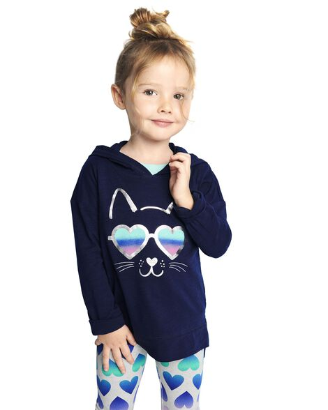 Display product reviews for Hooded Cat Tunic
