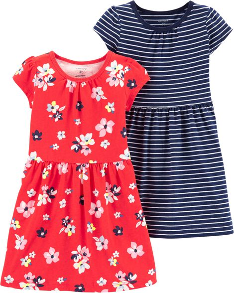 0a55f2b53f34 Toddler Girls Dresses & Rompers| Carter's | Free Shipping