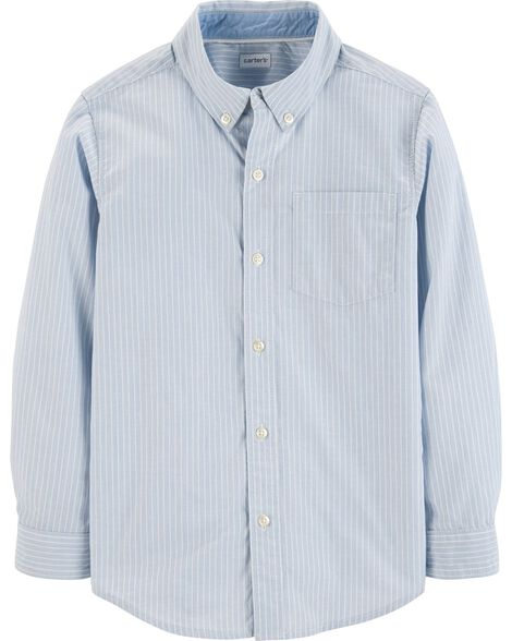 Display product reviews for Striped Dobby Button-Front Shirt