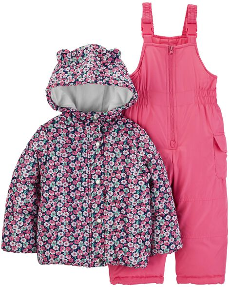 Display product reviews for 2-Piece Floral Snowsuit Set