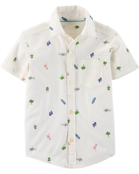 fa0144203 Baby Boy Tops: Collared & Dress Shirts, T-Shirts | Carter's | Free ...