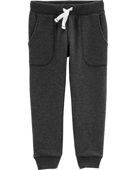 Display product reviews for Pull-On Marled Yarn French Terry Joggers